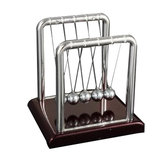 STEM Small Size Newton's Cradle Steel Balance Ball Physics Pendulum Toys_