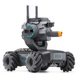 DJI Robomaster S1 STOOM DIY 4WD Brushless HD FPV APP-besturing Intelligente educatieve robot met AI modules Ondersteuning Scratch 3.0 Python-programma_