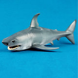 Shark Marine Animal Diecast Model Plastic Children Early Education Toy Gift_