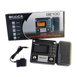 MOOER GE100 Multifunctioneel gitaareffect Pedaal met 180 seconden lusopname 60 Effecttypes LCD-display_