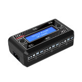 Ultra Power UP-S6AC 6x4.35W 1S AC / DC LiPO / LiHV-batterijlader met micro MX mCPX JST_