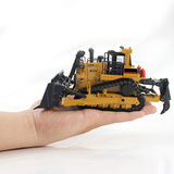 1:50 Crawler Bulldozer Model legering Tracked Engineering Track Auto Diecast Model Toys_