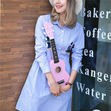 21 Inch Economic Soprano Ukulele Uke Musical Instrument With Gig bag Strings Tuner _