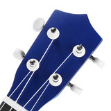 21 Inch Economic Soprano Ukulele Uke Musical Instrument With Gig bag Strings Tuner Blue_