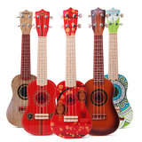 21 Inch 4 Strings Colorful Toy Ukulele Chinese Style for Kids Gift_