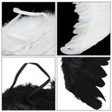 Feather Angel Wing Fancy Dress Accessoires Chirstmas Stadium Performance Decor_