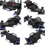 Traxxas 1/10 Rally Slash 4x4 LCG Chassis Stof Weerstaan ​​Vuil Guard Cover LCF16C06 Rc Auto-onderdelen_
