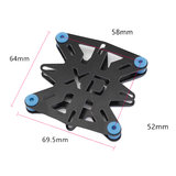 Flight Controller Anti-vibration Damping Plate Shock Absorber Set for FPV RC Airplane_