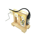 DIY Hand Handleiding Crank Generator Kit Kind Training Materialen Motor Handgemaakte Science Invention Speelgoed_