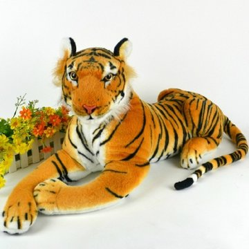 30cm Artificial Tiger Animal Plush Doll Cloth Kids Simulatie Gevulde Speelgoed