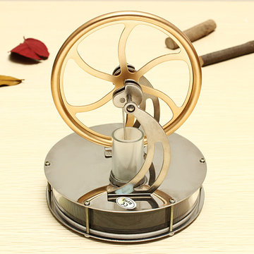STEM Low Temperature Difference Stirling Engine DIY Toy Gift Decor Collectie
