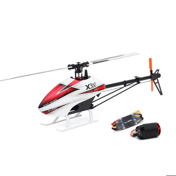 ALZRC X360 FBL 6CH 3D Flying RC Helicopter Kit met 2525 motor V4 50A borstelloze ESC standaard combo