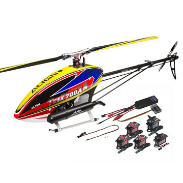 ALIGN T-REX 700XN Helicopter Dominator Super Combo