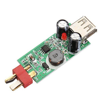 2S-6S RC Lipo Battery Converter Charger 3S2200mAh