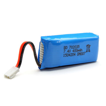 DM007 RC Quadcopter Reserve Deel 7.4V 400mAh Upgrade Lipo Batterij