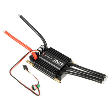FlyColor Waterproof Brushless 150A ESC With 5.5V / 5A 2-6s BEC For RC Boat