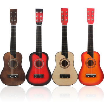 IRIN 25 Inch Basswood Guitar with String/Pick/Bag for Children Music Lovers