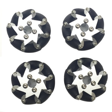 4PCS PI 50.8mm Omni Wheels For TT Motor RC Robot Car