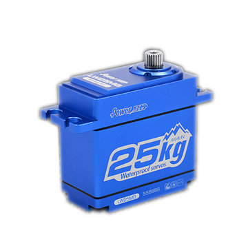 Power HD LW25MG Digital Servo 25KG Metal Gear Crawler-specific Waterproof Large Torque For KM2 TRX-4 T4 RC Car