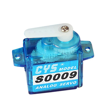 CYS-S0009 9g Tiny Analog Steering Servo for RC Car Buggy Truck Boat Airplane Helicopter