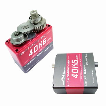 JX RD-B7640HV-180 40KG 180 Degree Brushless Servo For RC Robot