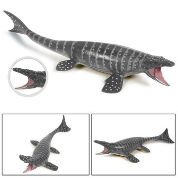 28*9.5*4.5cm Mosasaurus Dinosaur Model Simulation Animal Children's Toys