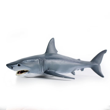 Shark Marine Animal Diecast Model Plastic Children Early Education Toy Gift