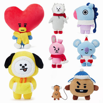 Kerst Knuffel Staande Pop Winter Limited TATA COOKY CHIMMY