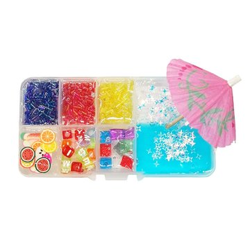 Areedy Z260 150ML Multicolor Slime Crystal Mud Set Decompressie DIY Gift Toy Stress Reliever