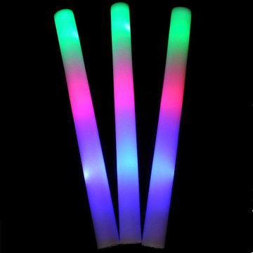 1pc LED Colorful Juichende Glow Flashing Foam Stick voor Concert Party Decoration Toys