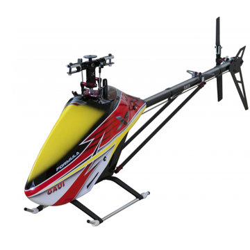 GAUI X5 V2 550 6CH 3D Flybarless riemaandrijving Versie RC Helicopter Kit