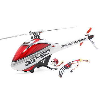 ALZRC Devil 420 Fast FBL RC Helicopter standaard combo