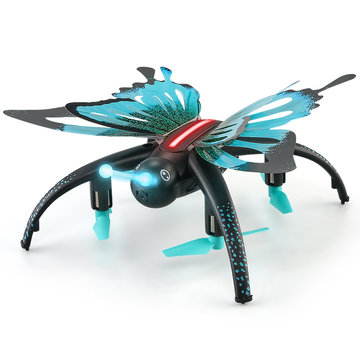 JJRC H42WH WIFI FPV Met 0.3MP Camera Spraakbesturing Hoogte Hold-modus Vlinderachtige RC Drone Quadcopter