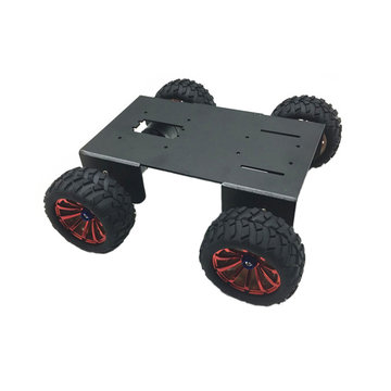 DIY A-18 4WD Smart Robot Car Chassis Kit voor Raspberry Pi