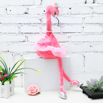 Flamingo zingend Dancing Pet Bird 50cm 20 Inch Christmas Gift Knuffel Cute Doll