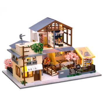 DIY Cottage Creative Gifts Original Dream Assembled Kids Toys Doll House