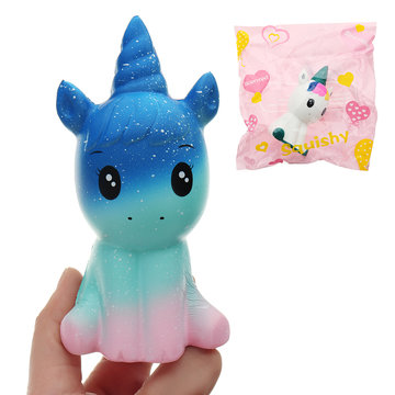 Unicorn Squishy 12 * 6.5 * 5CM Slow Rising With Packaging Collection Soft Speelgoed