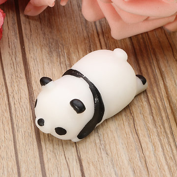Panda Squishy Knijp Leuke Healing Toy Kawaii Collection Gift Decor Stress Reliever