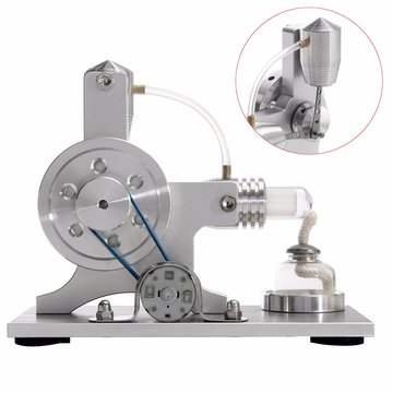 Stirling Engine Model Fysische Motor Power Generator Externe Verbranding Educational Toy