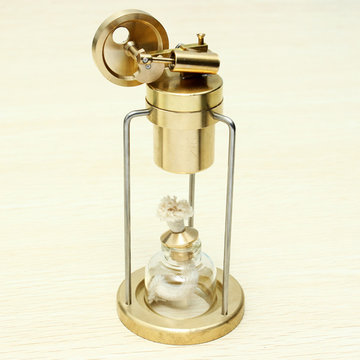 Microcosm Mini Live stoommachine Brass Stirling Engine Model Science Education