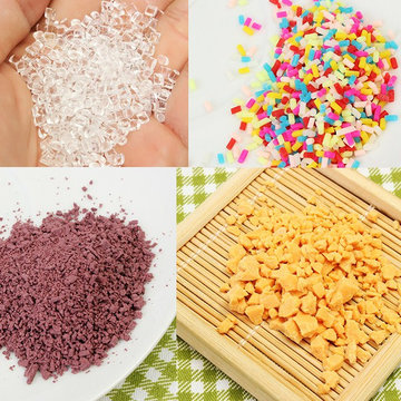 Sugar Clay Handmade DIY Simulation Creamy Soil Ultralight Clay Dessert DIY Accessories