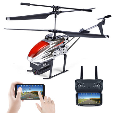 KY808 KY808W 2.4G 4CH 6 Aixs Hover Hoogte Houd Wifi APP Controle RC Helicopter Met HD Camera