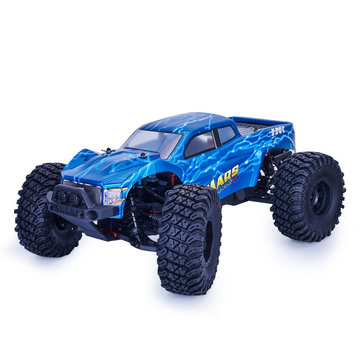 HNR MARS Pro H9801 1/10 2.4G 4WD Rc Auto 80A ESC borstelloze motor Off Road Monster Truck RTR Toy