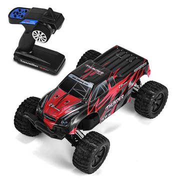 ZD Racing 9106-S 1/10 Thunder 2.4G 4WD Borstelloze 70 KM / u Racing RC Auto Monster Truck RTR Speelgoed