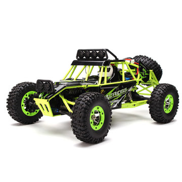WLtoys 12427 2.4G 1/12 4WD Crawler RC auto met LED-licht