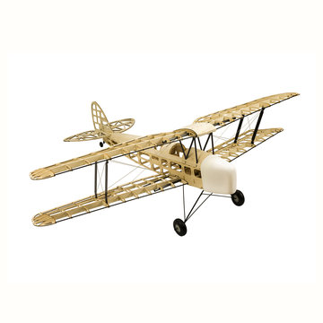 Dancing Wings Hobby Tiger Moth 1400mm Spanwijdte Balsahout RC Vliegtuig DIY Kit