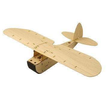 ZYO-6 Balsawood Hand Launch Free Flight Glider RC Vliegtuig KIT