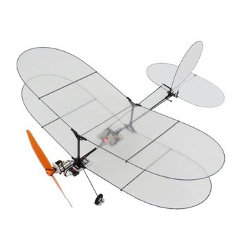 TY Model Black Flyer V2 Carbon Fiber Film RC vliegtuig Met Power System