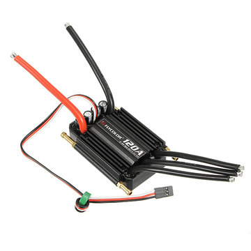 FlyColor Waterdichte Brushless 120A ESC 2-6s Met 5.5v / 5A Voor RC Boat