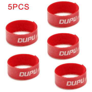 5 PCS 16cm DUPU Li-Po batterij bevestiging Magic tape straps voor RC Model